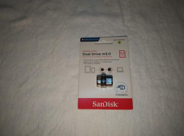 sandisk dual drive, otg, cara mudah pindah fail dari smartphone, produk sandisk, selamatkah membeli di lazada,