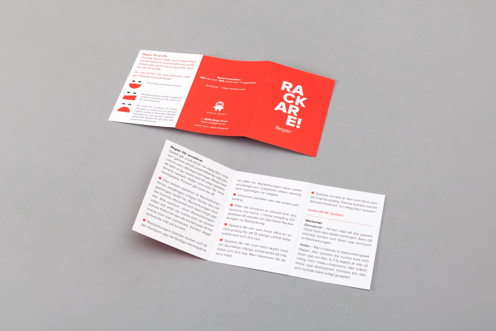 Rackare! concepts on packaging of the world creative package