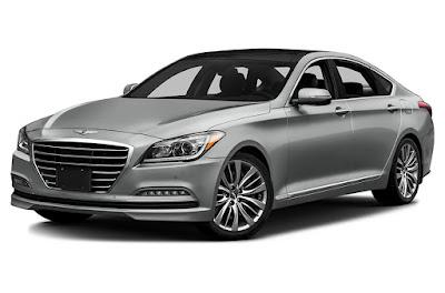 New 2017 Genesis G90 left side front image