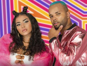 """""""Sem Perder a Pose"""", cantora Biancafaz MC Zaac de refém em clipe de sua nova música"""