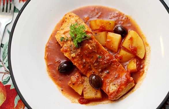 Receita de salmão ao molho de tomate como fazer