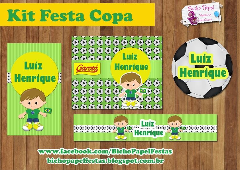Kit Festa Digital Copa Menino