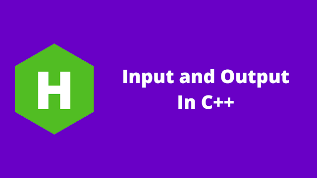 HackerRank Input and Output in c++ problem solution