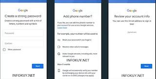 Cara Membuat Email Baru di HP Lewat Gmail #4
