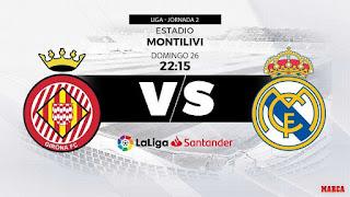 مشاهدة لعبة ريال مدريد ضد جيرونا بث مباشر اليوم في الدوري الاسباني