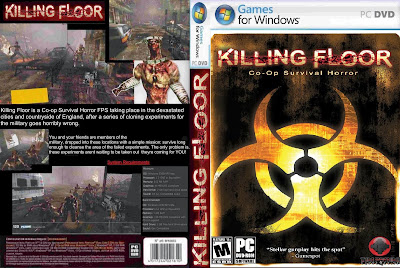 Killing Floor PC DVD Capa