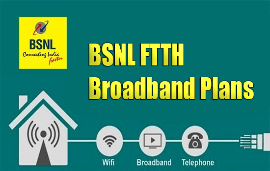 How can I apply for BSNL Bharat Fiber (FTTH) connection? What is the total cost for installing BSNL FTTH Broadband?