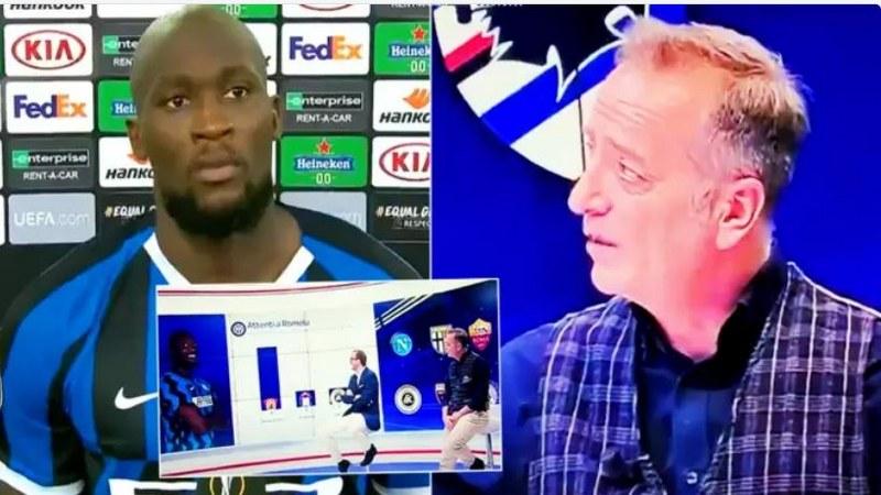 Sky Sports host racially abuse Romelu Lukaku on live TV show