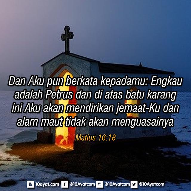Matius 16:18