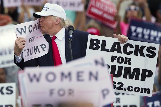 Дональд Трамп, мітинг