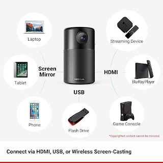 Top 10 Best Galaxy S10+ Portable Android Projectors in 2019