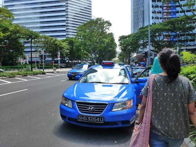 Pemandu Teksi Singapore
