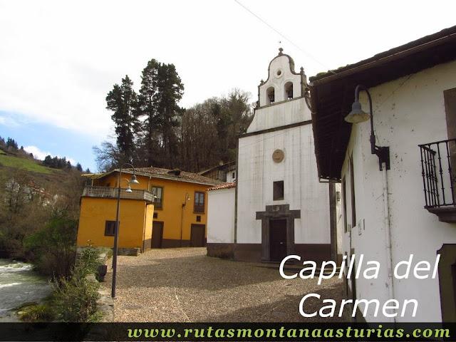 Capilla del Carmen en Cangas del Narcea