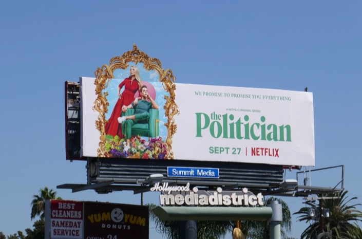 Politician extension cut-out billboard