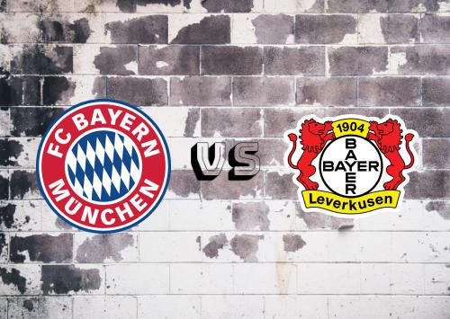 Bayern München vs Bayer Leverkusen  Resumen y Partido Completo