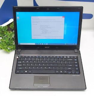 Jual Laptop Acer 4741 Core i5 Bekas
