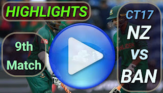 NZ vs BAN 9th Match