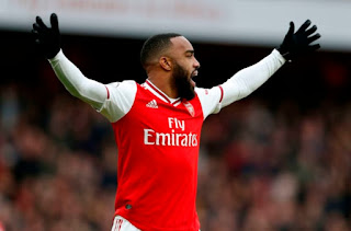 Arsenal can beat FA Cup semi opponents Man City - Lacazette