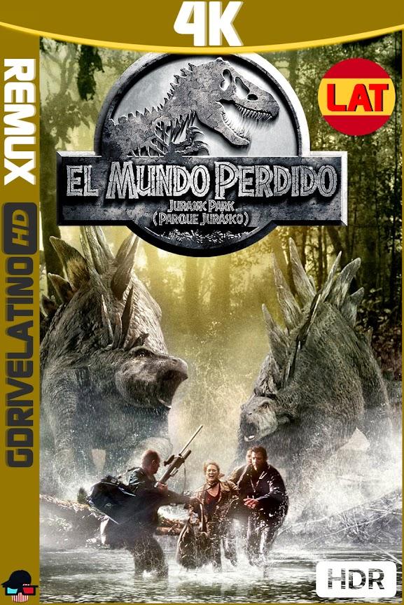 Jurassic Park 2 : El Mundo Perdido (1997) BDRemux 4K HDR Latino-Ingles MKV