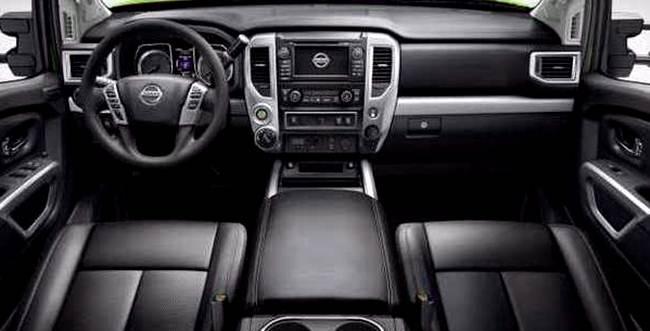 2017 Nissan Frontier Interior