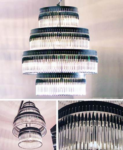 Lamps With Bic Pens 3
