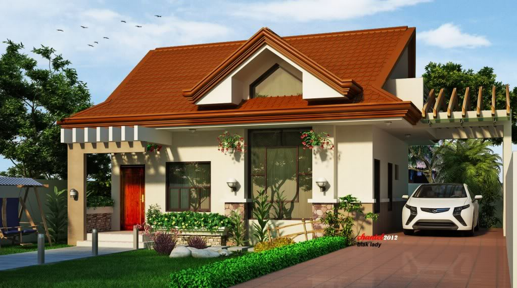 Beautiful philippines small house for a small family for Filipino small house design