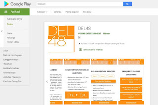 DEL48 launched official mobile phone app