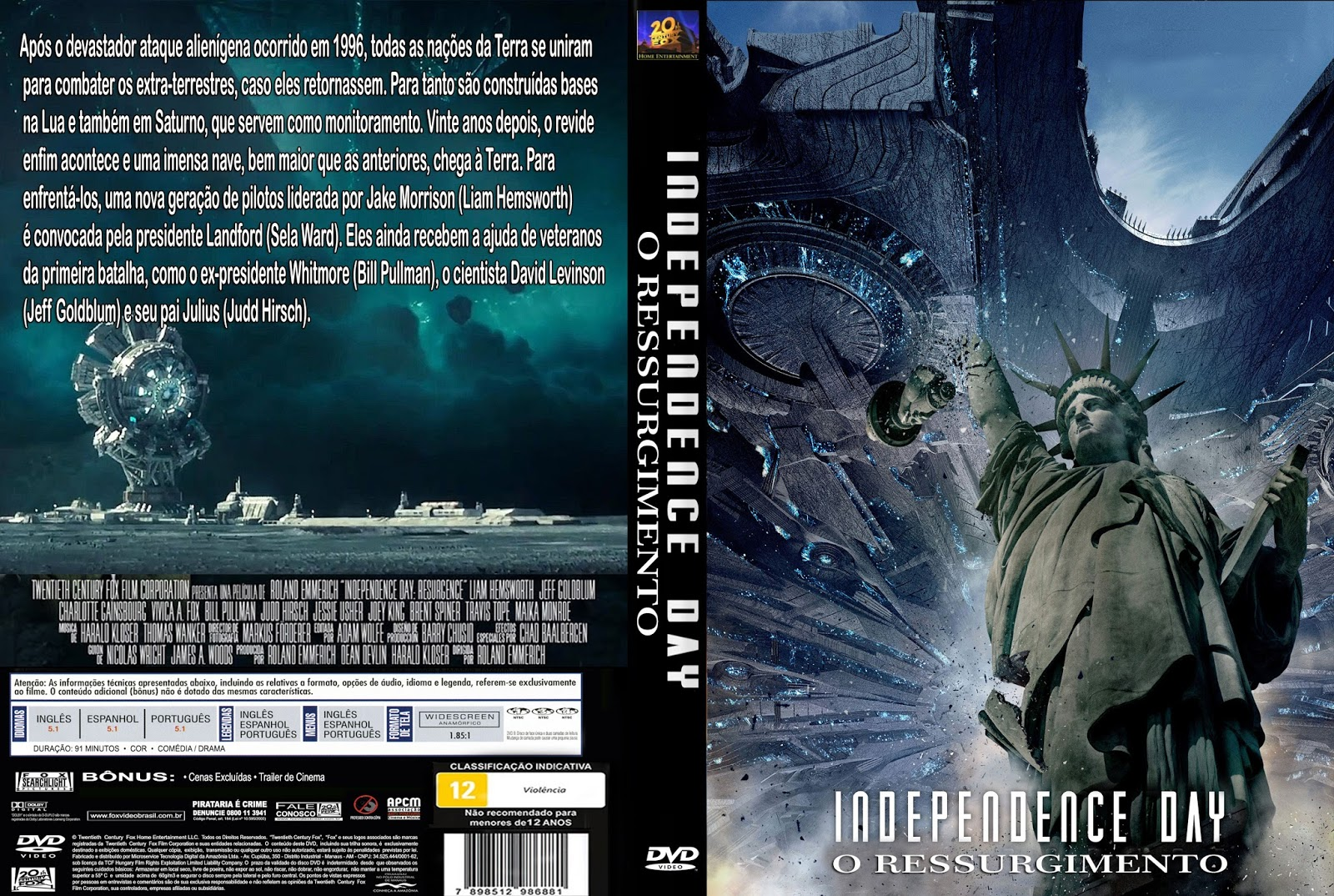 Baixar Independence Day O Ressurgimento DVD-R Independence 2BDay 2BO 2BRessurgimento 2BDVD R 2B  2BXANDAODOWNLOAD