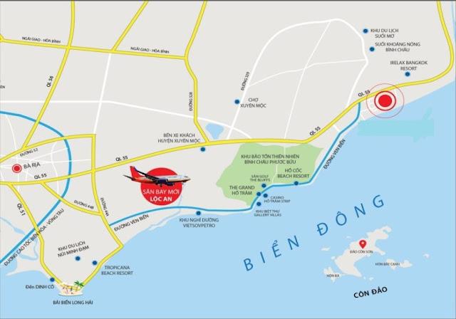 Quy hoạch giao thông hạ tầng kết nối của Bình Châu huyện Xuyên Mộc