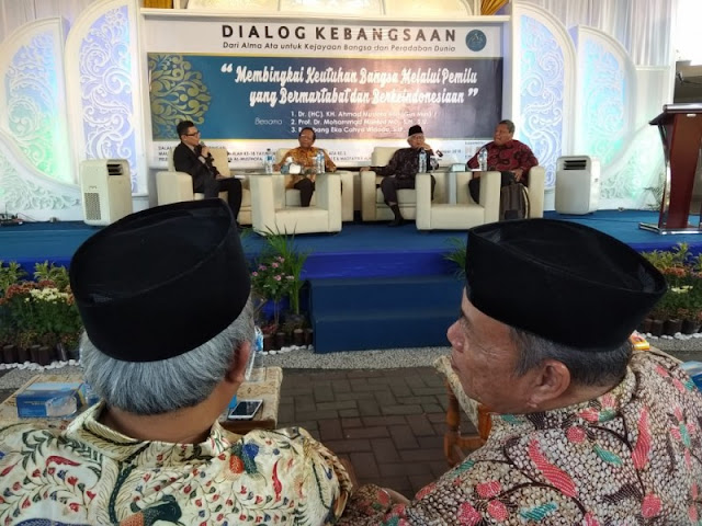 Dialog Kebudayaan, Gus Mus Prihatin Fenomena Cebong Kampret