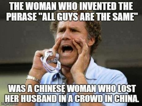 The Woman Who Invented The Phrase All Guys Are The Same