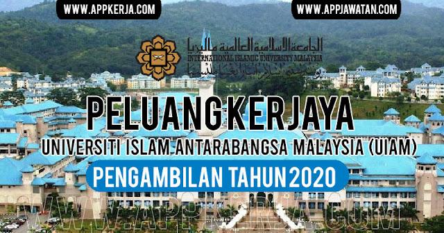 Jawatan Kosong di Universiti Islam Antarabangsa Malaysia (UIAM)