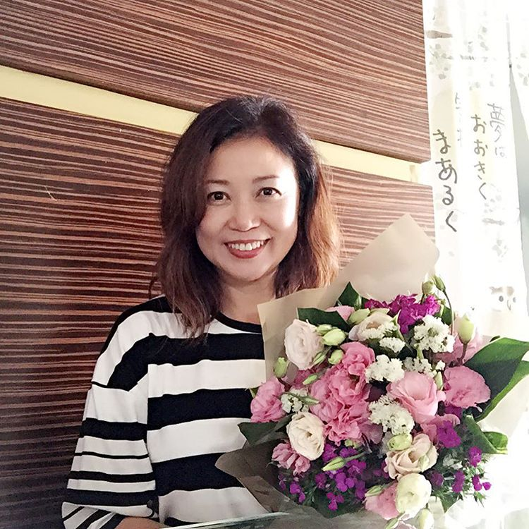 Xiang Yun on her birthday