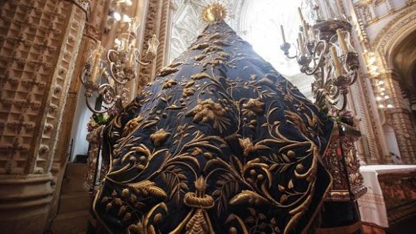 La Virgen de los Dolores de Córdoba llevará el manto de las palomas en la magna del Sagrado Corazón
