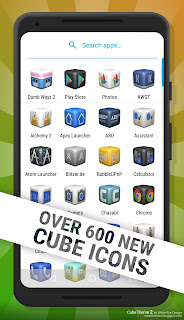Cube Theme 2 over 600 new cube icons