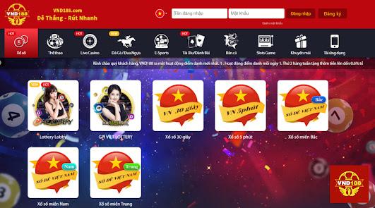 VND188 là một sòng bạc casino trực tuyến, uy tín, an toàn và đáng tin cậy nhất tại Việt Nam