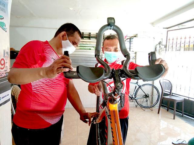 sepeda jakarta-surabaya