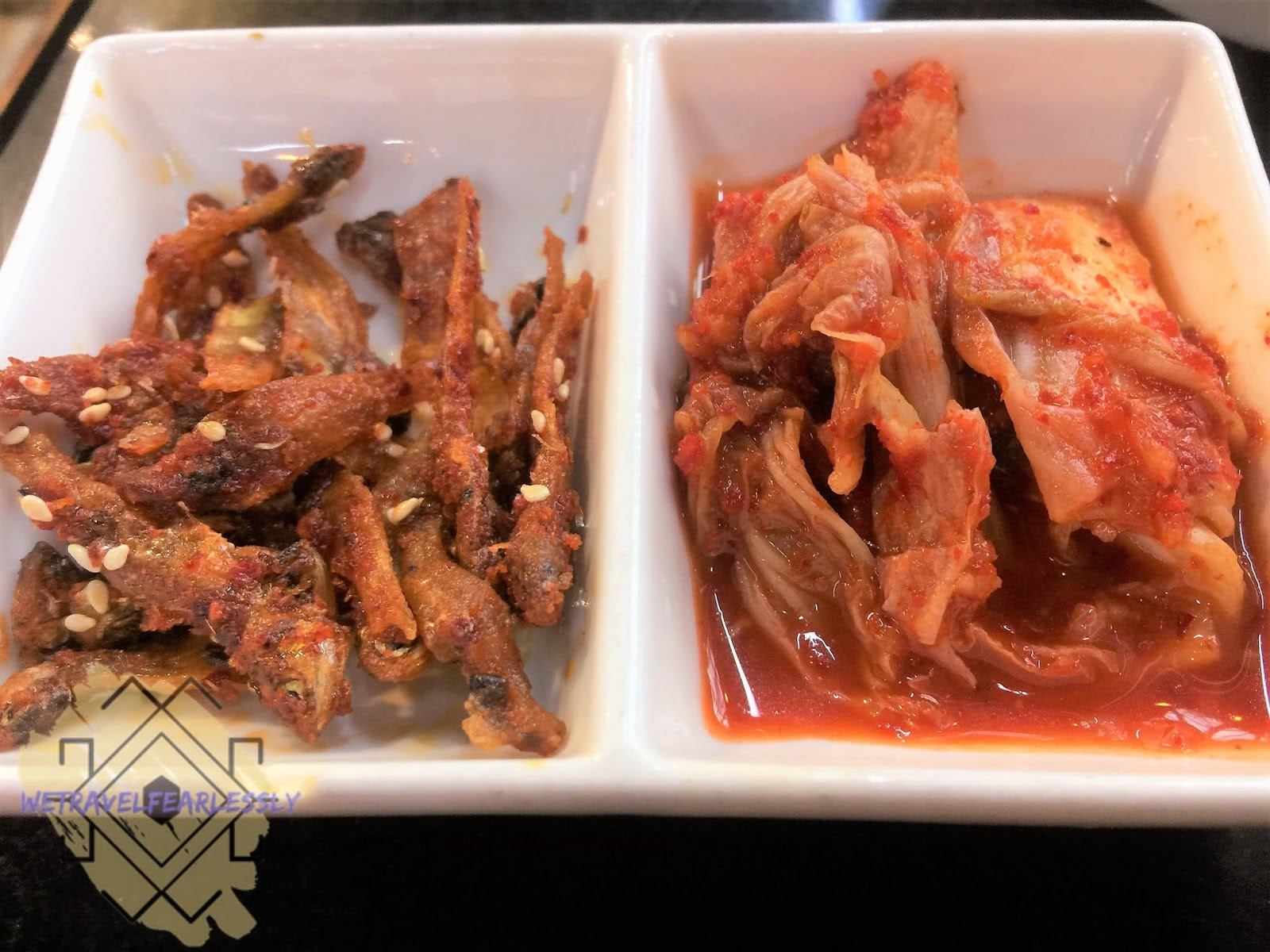 myulchi bokkeum and eomuk bokkeum in Samgyeopmasarap in SM Marikina - WTF Review