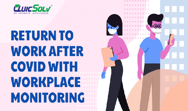 Return to Work after Covid with Workplace Monitoring #infographic