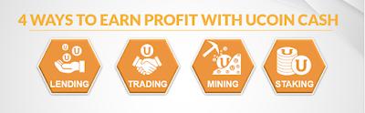 Dự án đầu tư UCOIN CASH