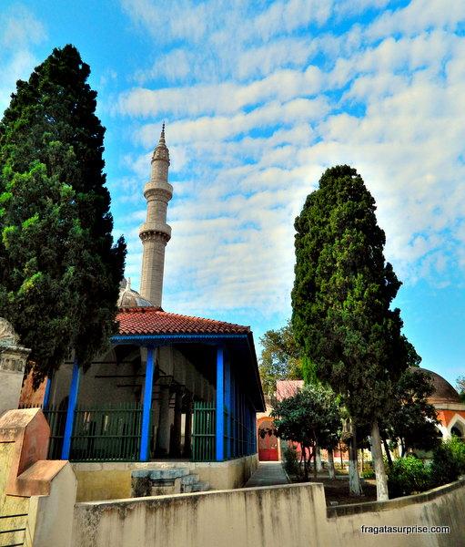 Mesquita de Suleiman, em Rodes, Grécia