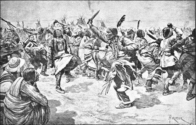 It was at this time a Paiute prophet named Wovoka ignited a religious movement known as the Ghost Dance.
