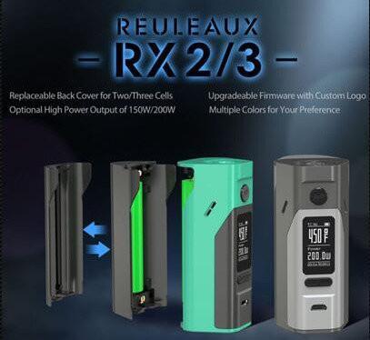 USA BLOWOUT: WISMEC REULEAUX RX2/3 150W/200W BOX MOD – $29.95