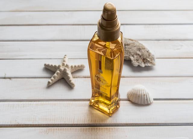 Olejek do włosów suchych