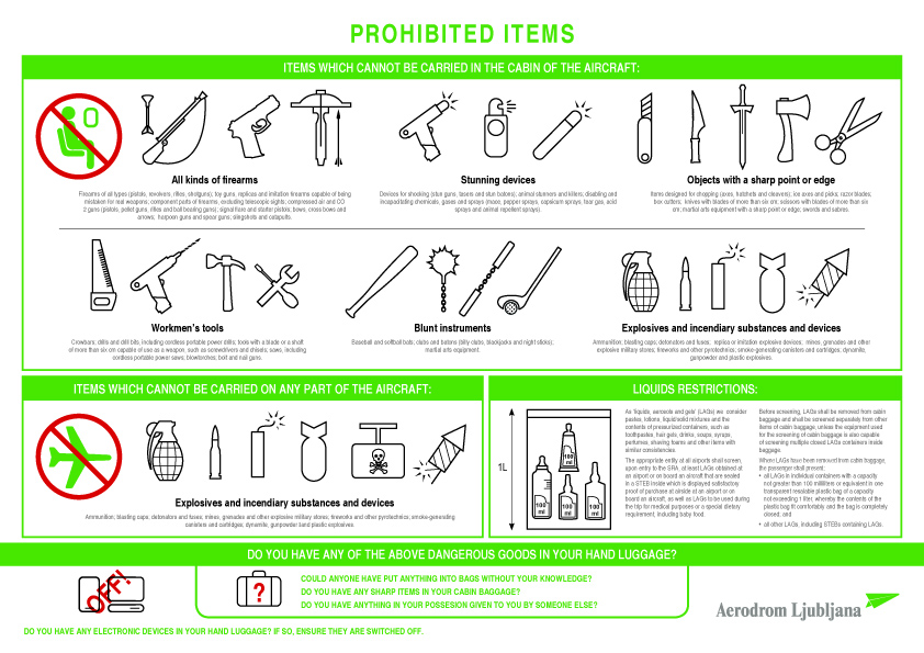 Banned In Dubai Airport List Of Items Prohibited As Hand