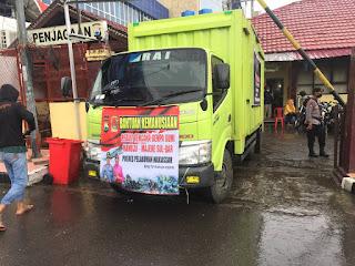Peduli Bencana, Polres Pelabuhan Makassar Kirim Bantuan Sembako dan Pakaian Sehari hari ke Sulbar