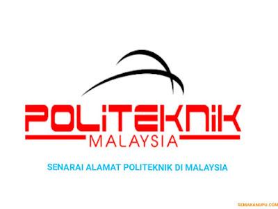 Senarai Alamat Politeknik di Malaysia