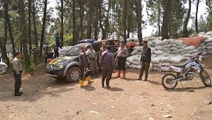 Hutan Lindung di Lereng Gunung Slamet Terbakar, Seluruh Polsek di Brebes Wilayah Selatan Dikerahkan