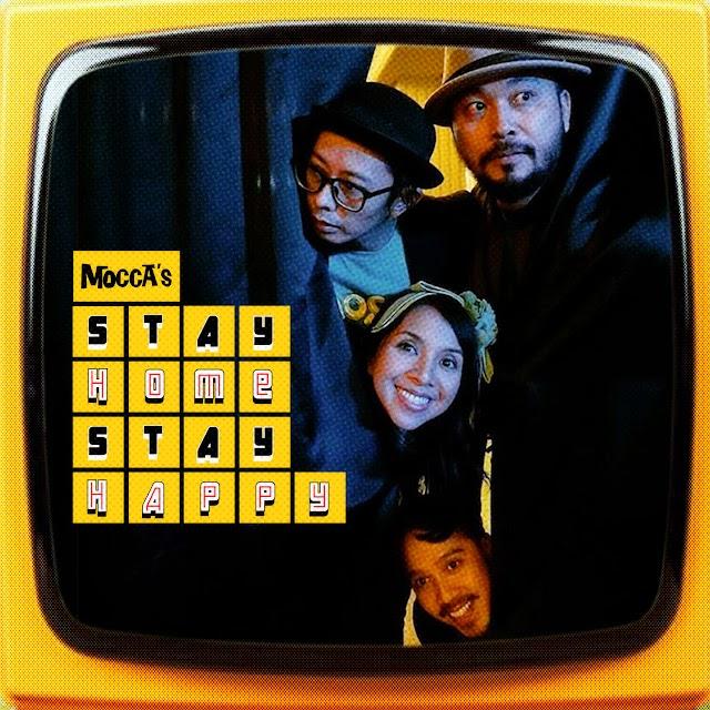 Mocca persembahkan konser Stay Home Stay Happy