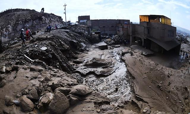Huaico en Tacna: Damnificados superan los 3 mil y unos 300 viviendas afectadas